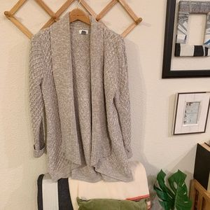 Beautiful Taupe Knit Style Old Navy Cardigan